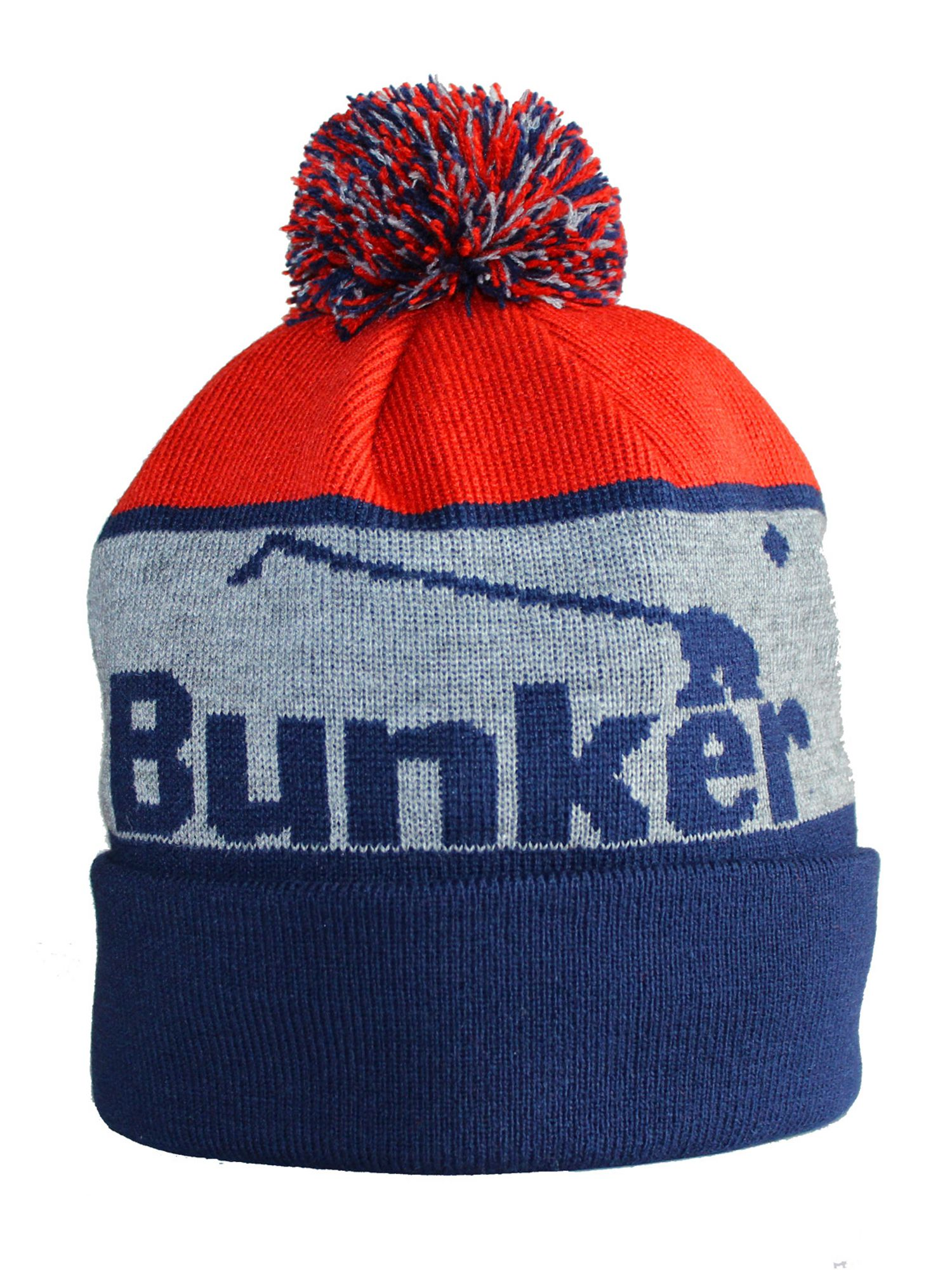 Bunker Logo Bobble Hat
