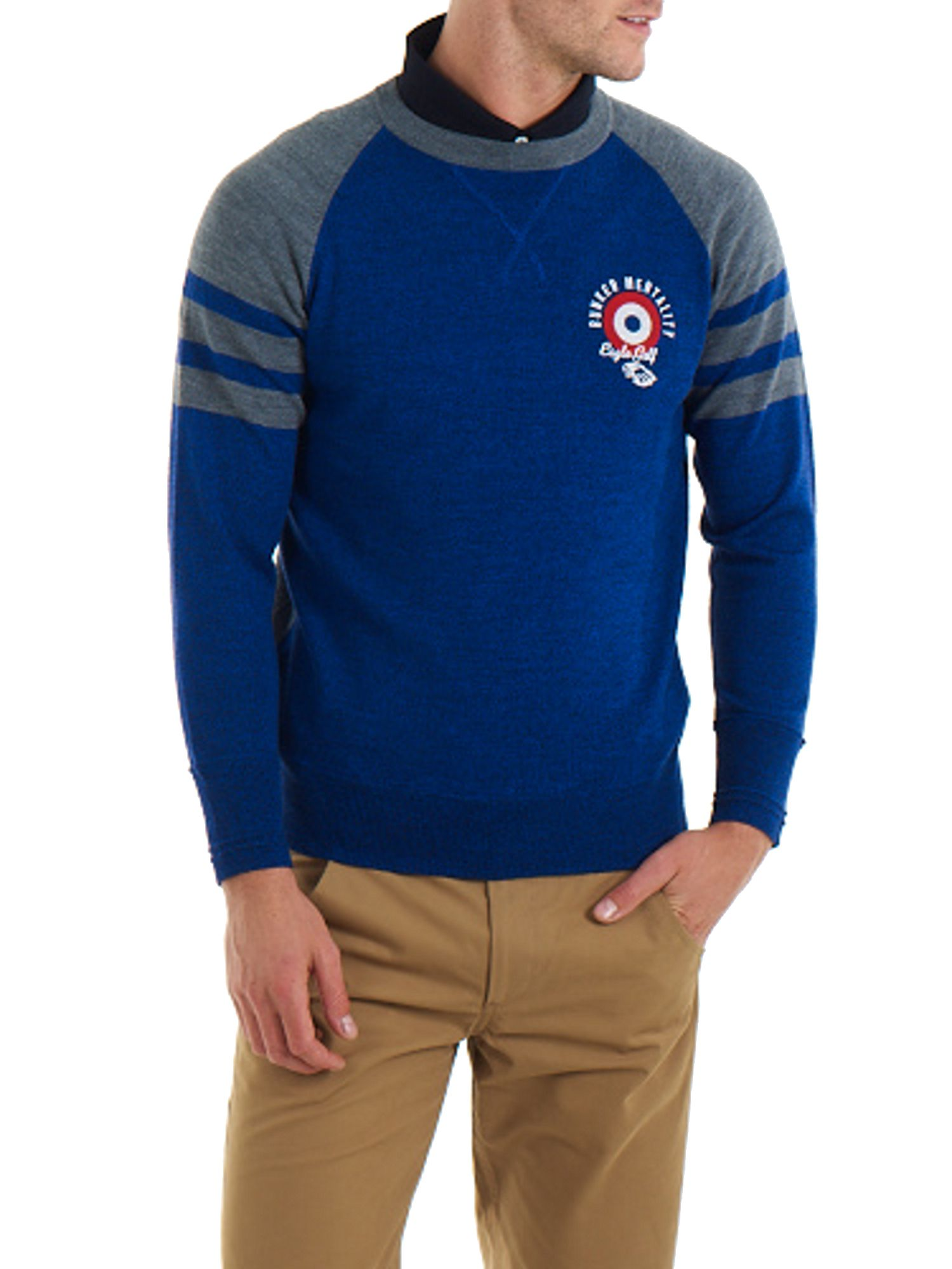 Eagle Golf Target Crew Neck Sweater