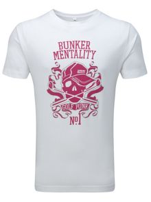 Bunker Mentality Pattern Scoop Regular Fit T-Shirt