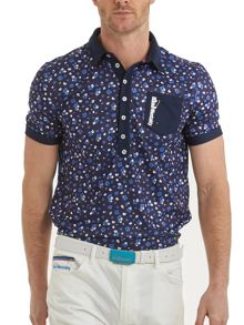 Bunker Mentality Cmax Floral Polo