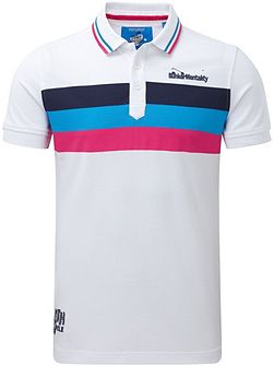 Triple Stripe Polo