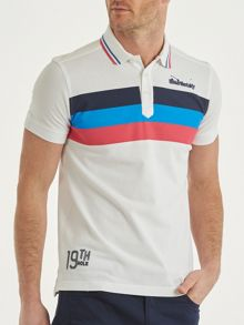 Bunker Mentality Triple Stripe Polo