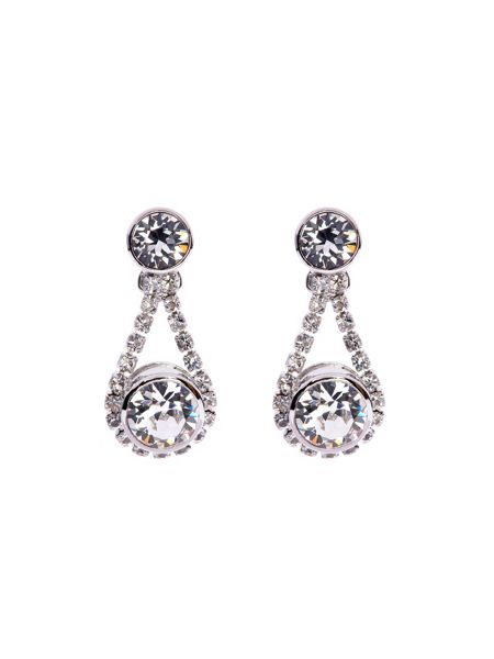 Ted Baker Stormm crystal daisy drop earring