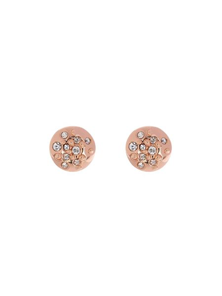 Karen Millen Crystal sprinkle stud earrings
