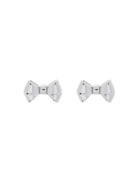 Ted Baker Bette silver baby bow earring