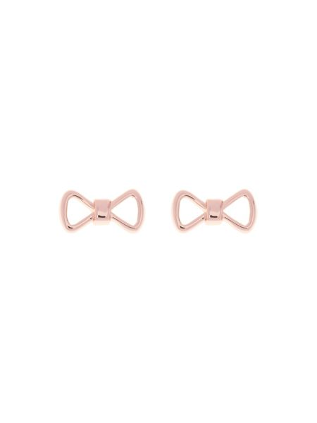 Ted Baker Alie rose gold peek a bow stud earring