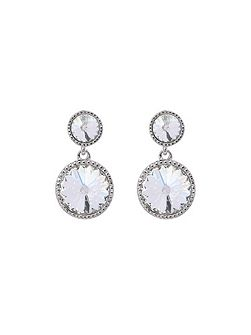 Ronda rivoli crystal drop earring