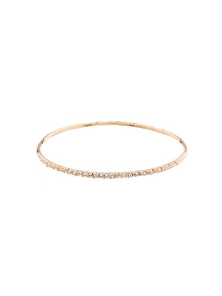 Karen Millen Gold & crystal sprinkle bangle