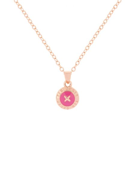 Ted Baker T12602473 elvina mini button pendant