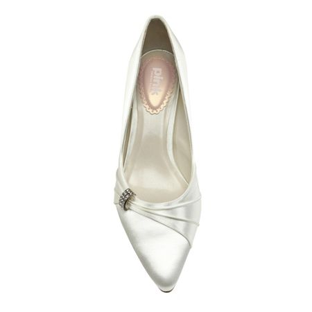 Paradox London Pink Beau mid heel court shoes