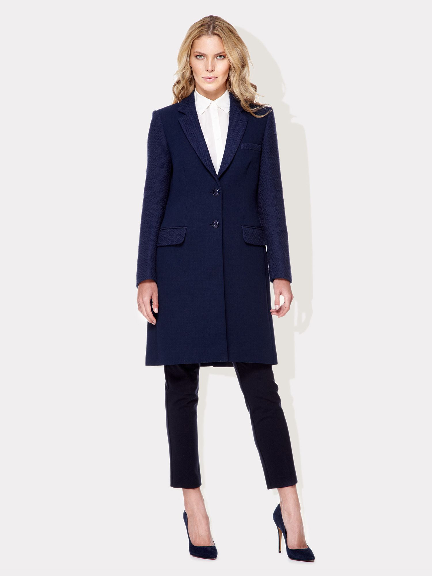 Contemporary Lagoon Coat