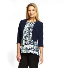 Damsel in a Dress Fjord Jacket Navy