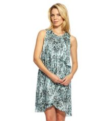 Damsel in a Dress Fairway Print Dress