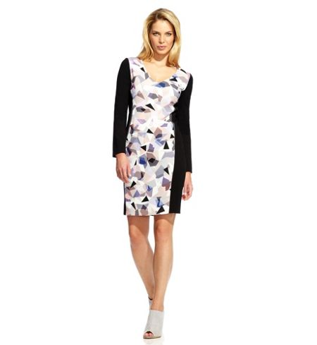 Damsel in a Dress Misty Print Shift Dress