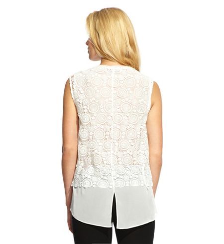 Damsel in a Dress Antique Lace Top