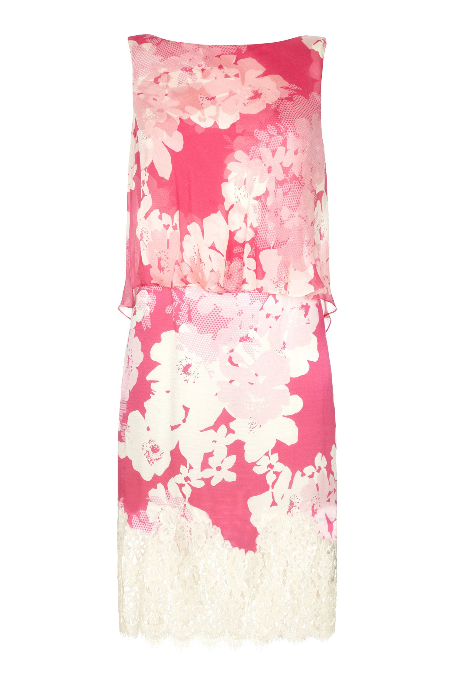 Damsel in a Dress Ebony Rose Lace Dress, Pink