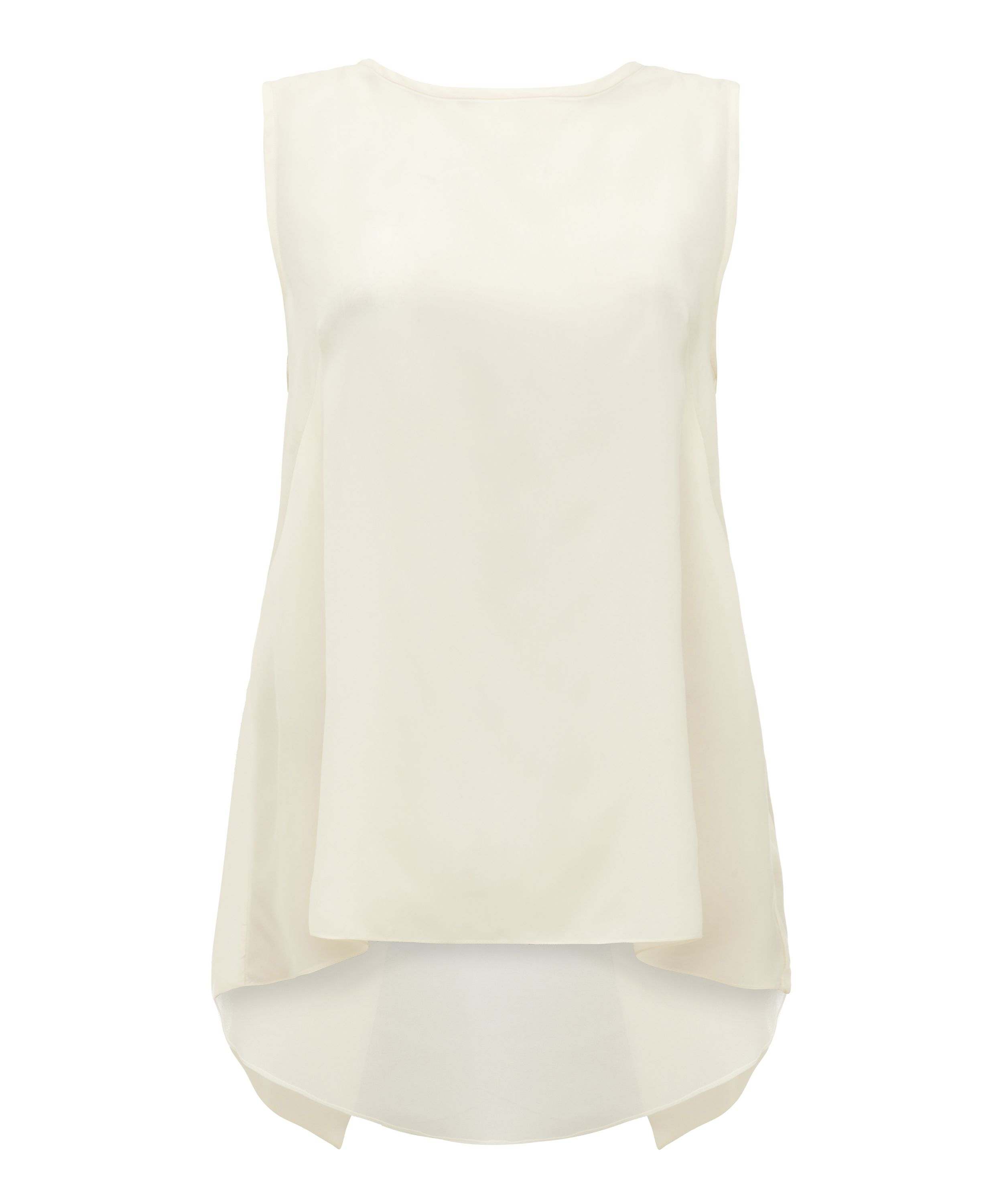 Damsel in a Dress Aperto top, Cream