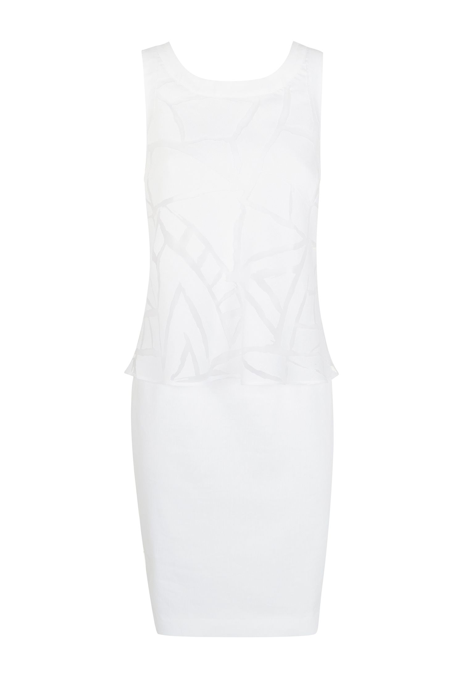 Damsel in a Dress Cirrus Dress, White