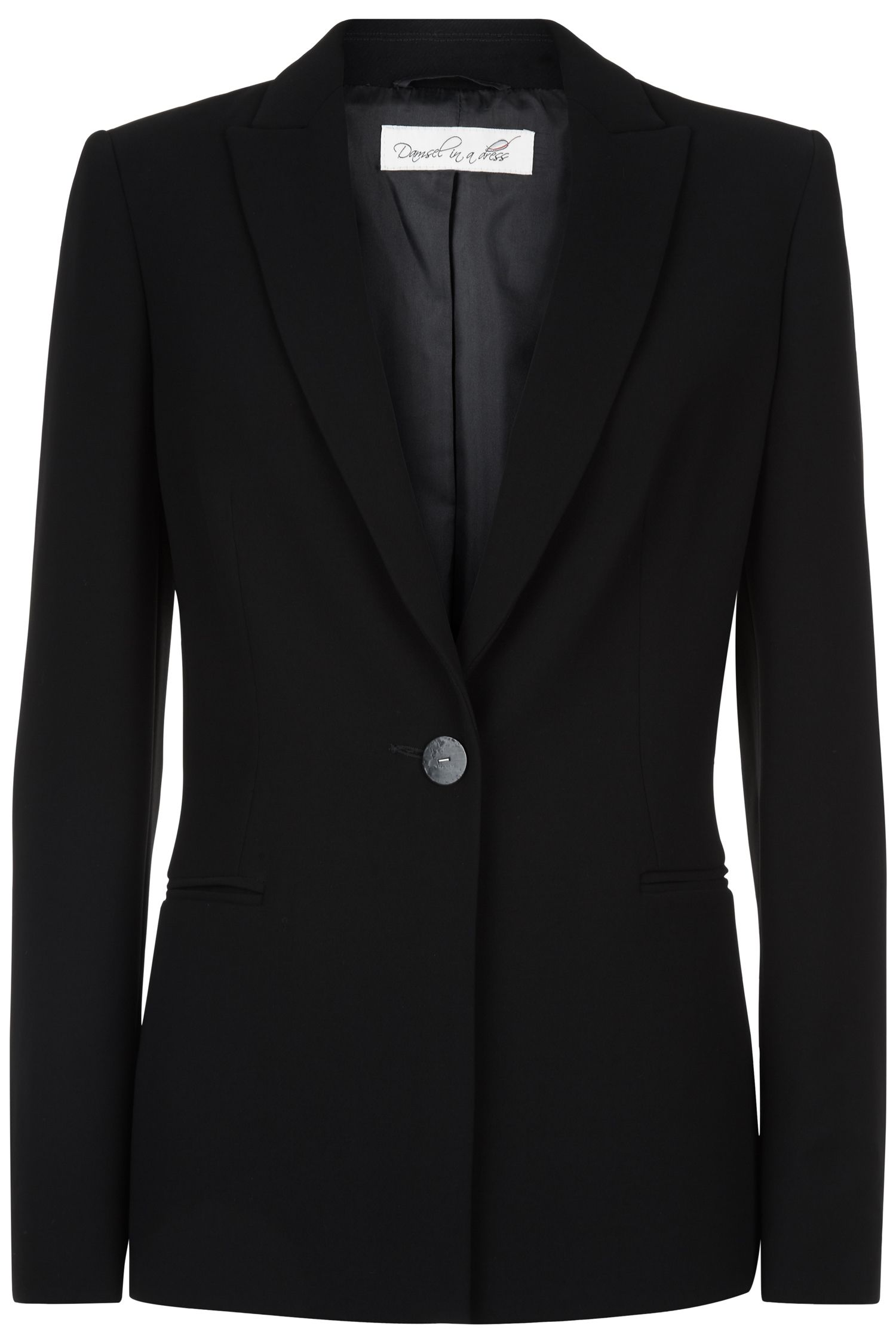 Damsel in a Dress Spotlight Jacket, Black