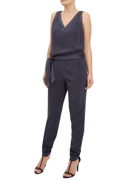 Damsel in a Dress Luxedo Jumpsuit