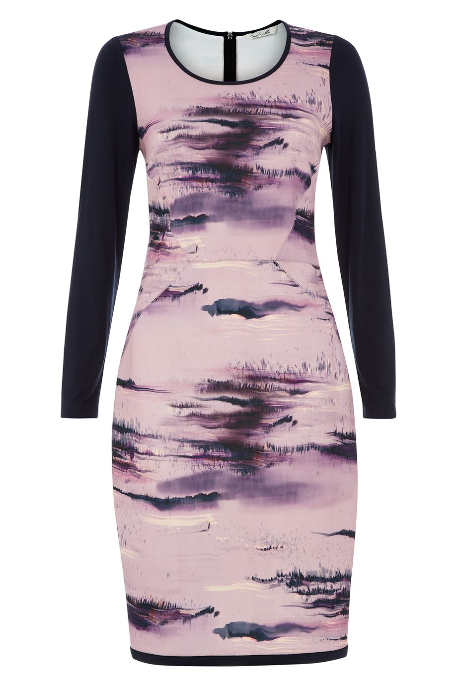 Damsel in a Dress Damson Dusk Print Dress, Multi-Coloured