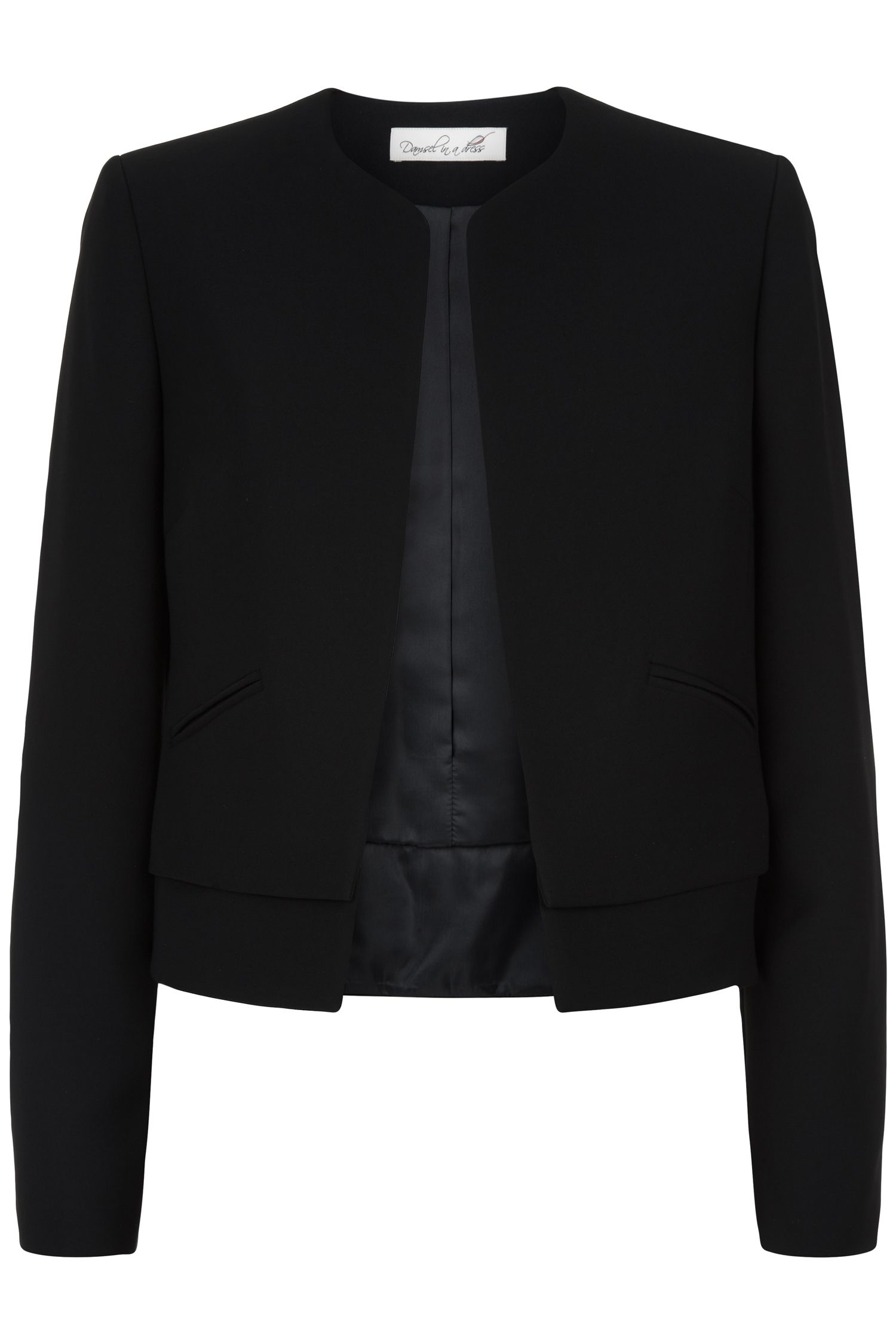 Damsel in a Dress Spotlight Short Jacket, Black