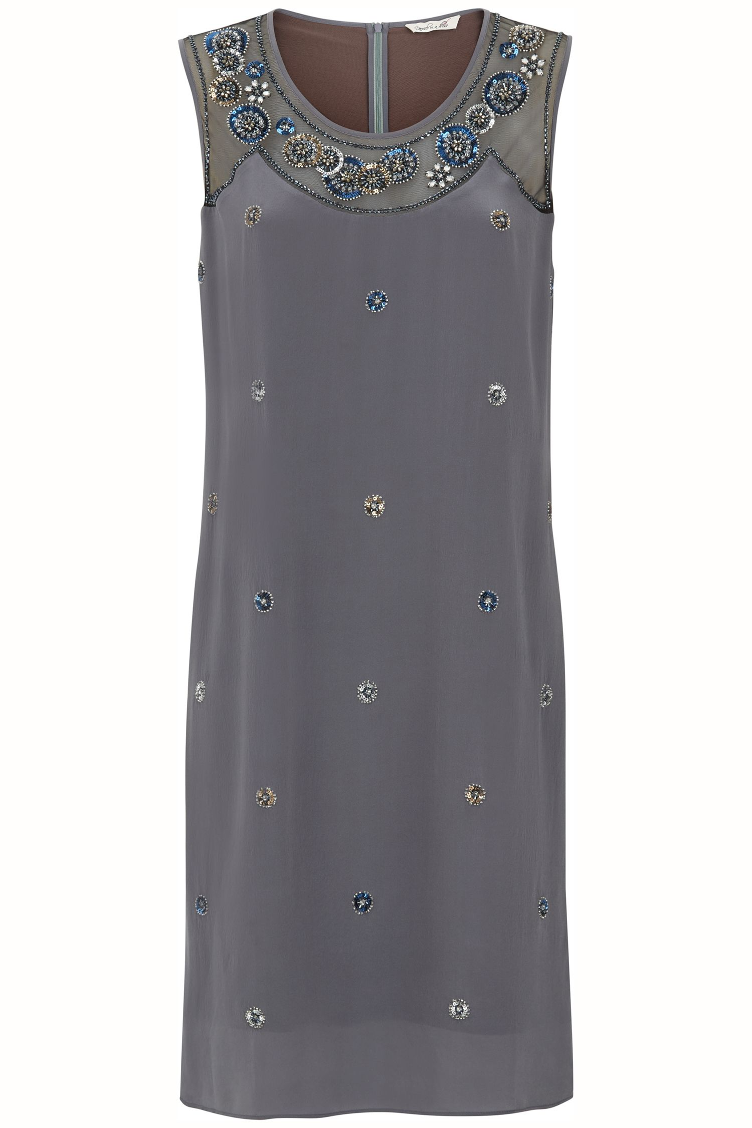 Damsel in a Dress Gudi Dress, Grey