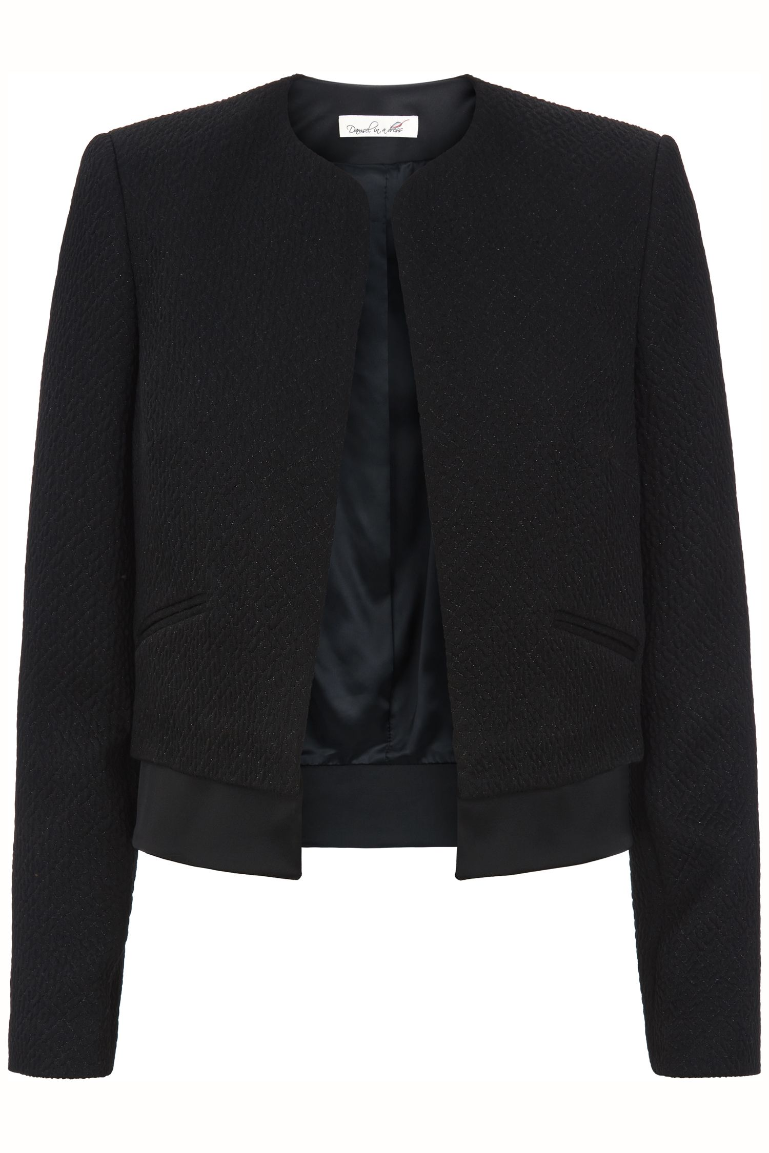 Damsel in a Dress Turner Jacket, Black