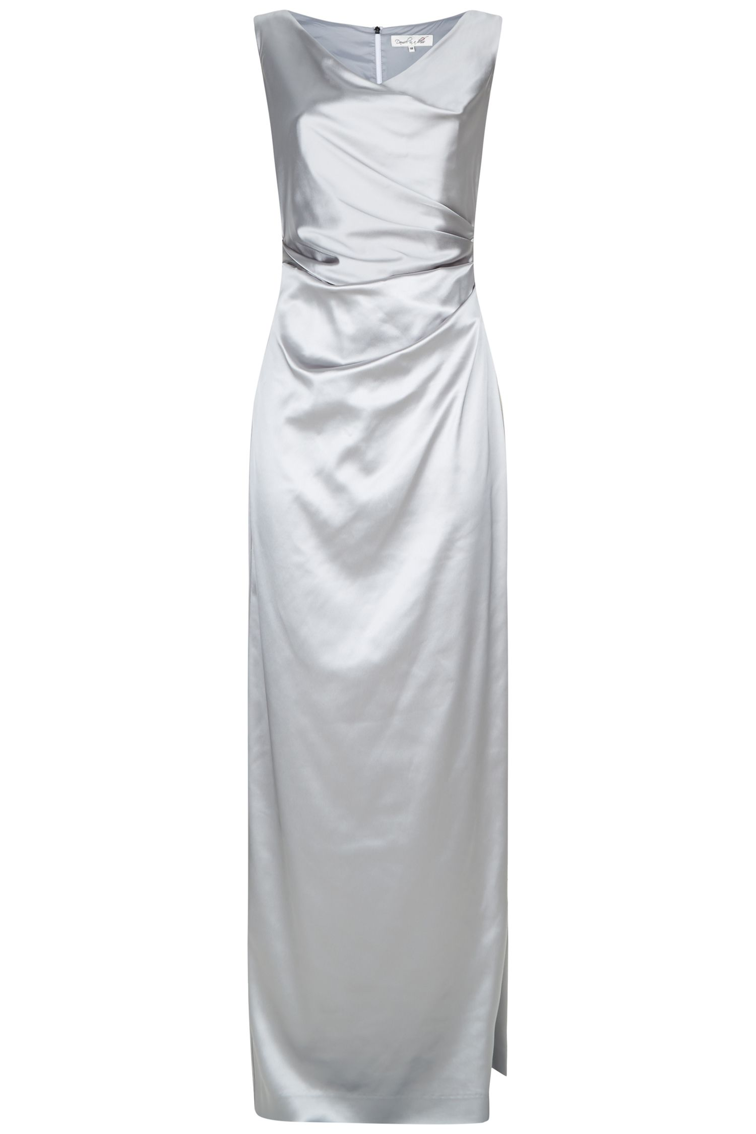 Damsel in a Dress Bellini Dress, Silver