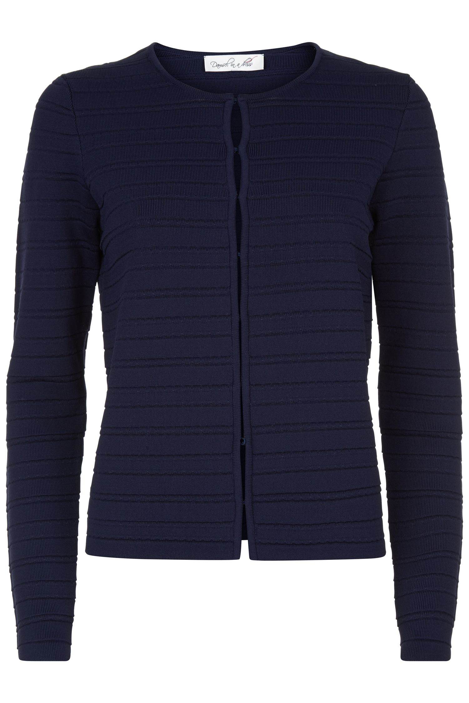 Damsel in a Dress Delia Knitted Jacket, Blue