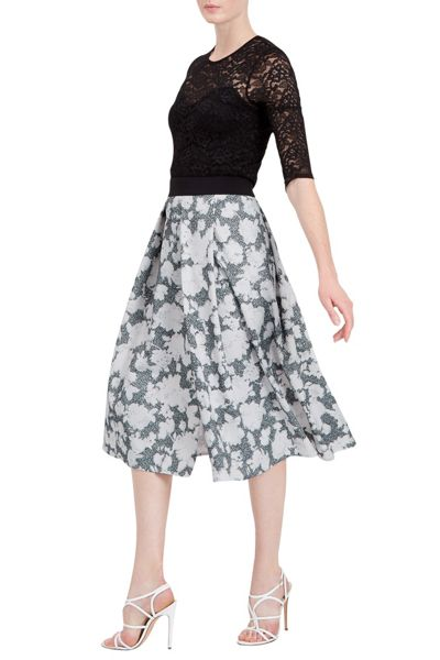 Damsel in a Dress Floral Corset Skirt