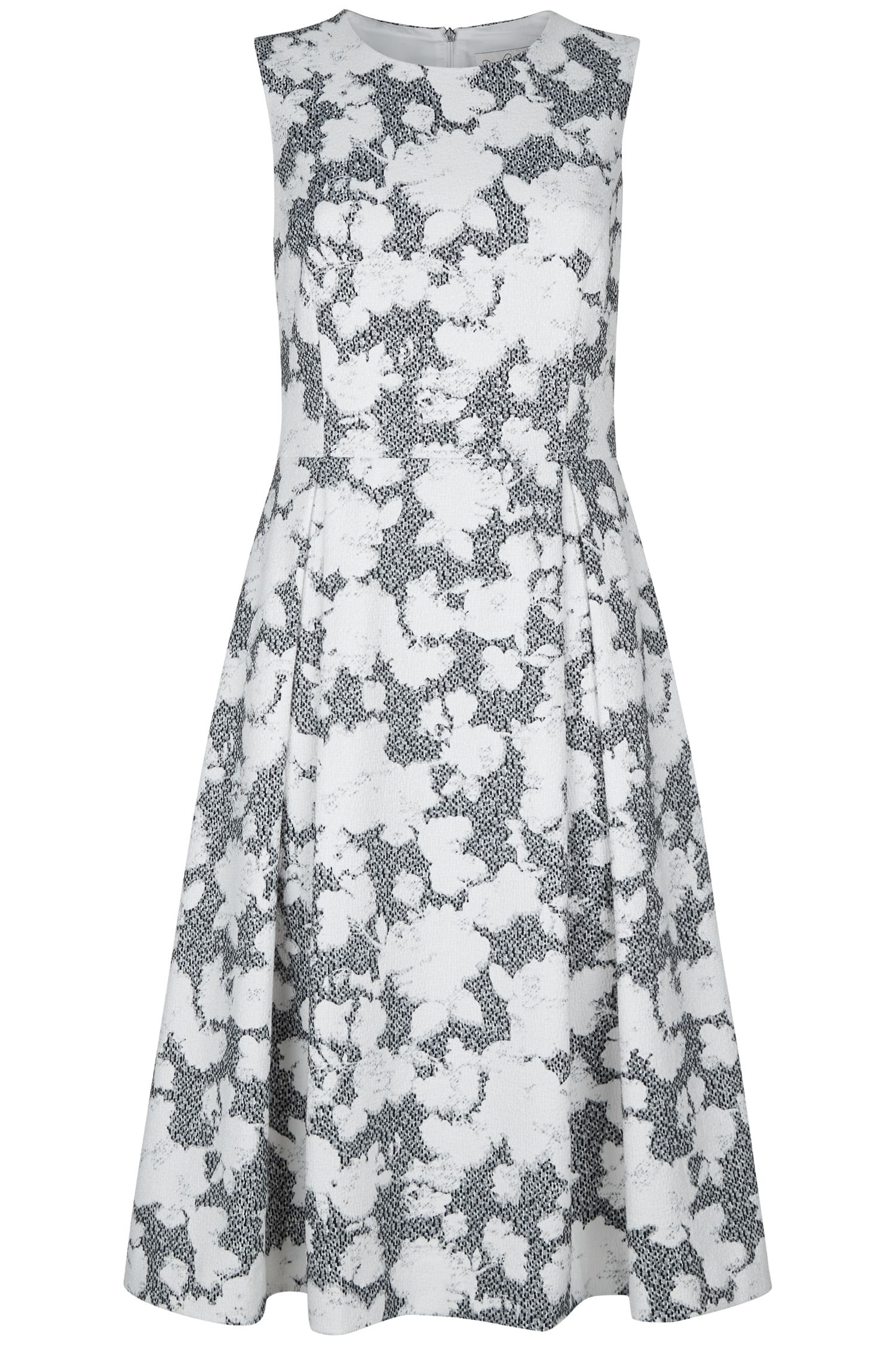 Damsel in a Dress Floral Corset Maya Dress, Black & White
