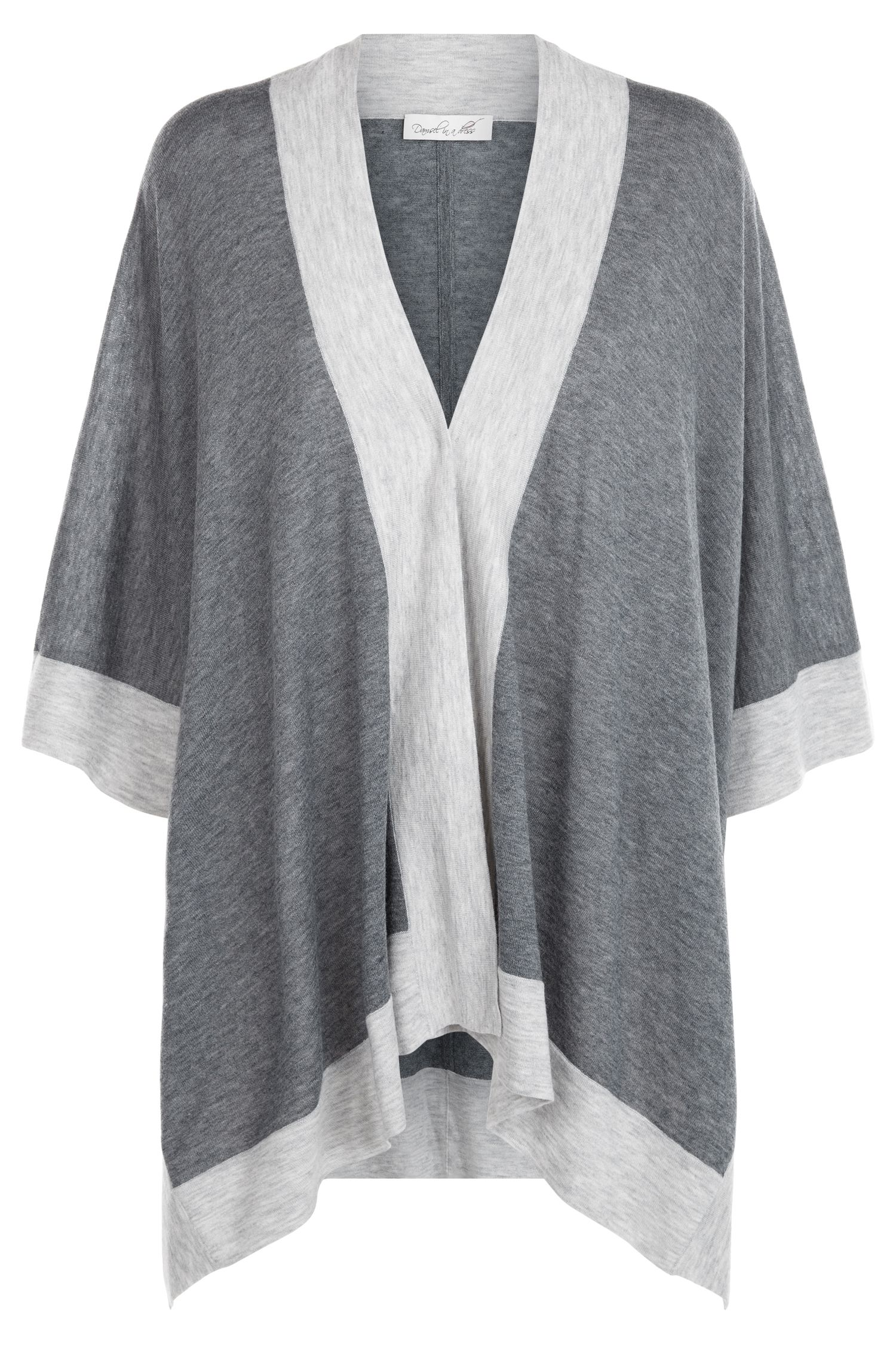Damsel in a Dress Gigi Wrap, Grey