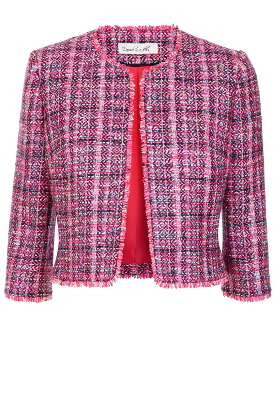 Damsel in a Dress Happy Tweed Jacket MultiColoured