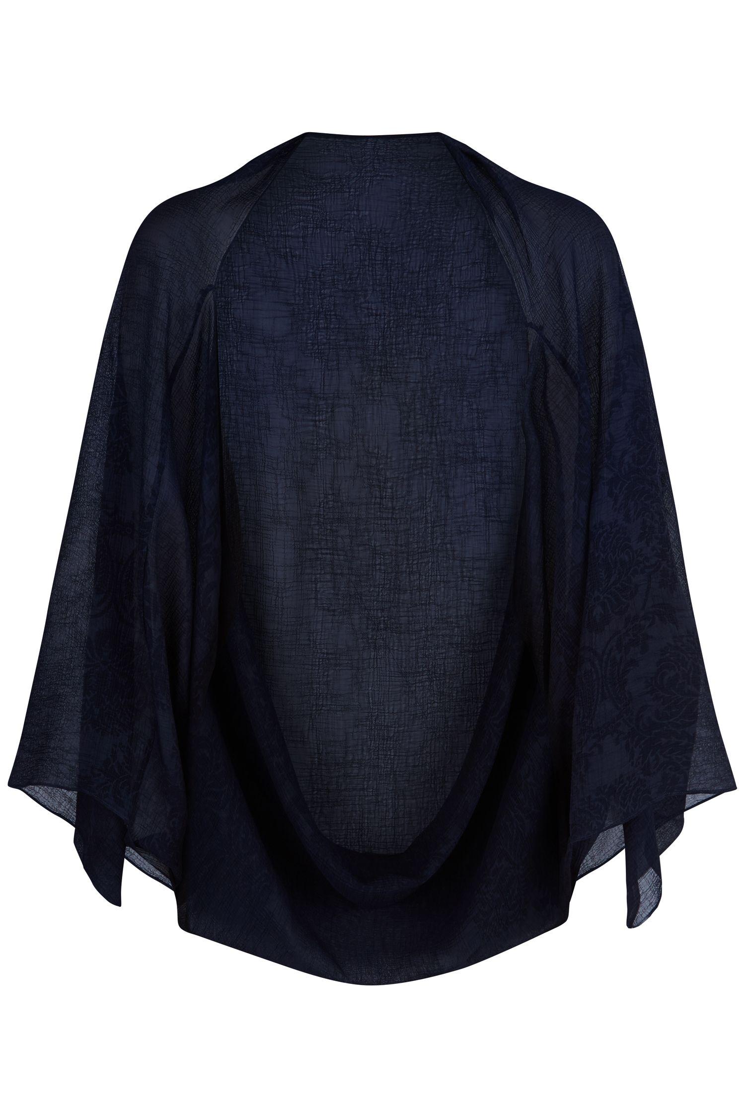 Damsel in a Dress Embossed Cape, Blue