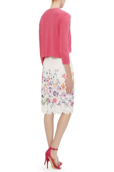 Damsel in a Dress Botanical Pencil Skirt