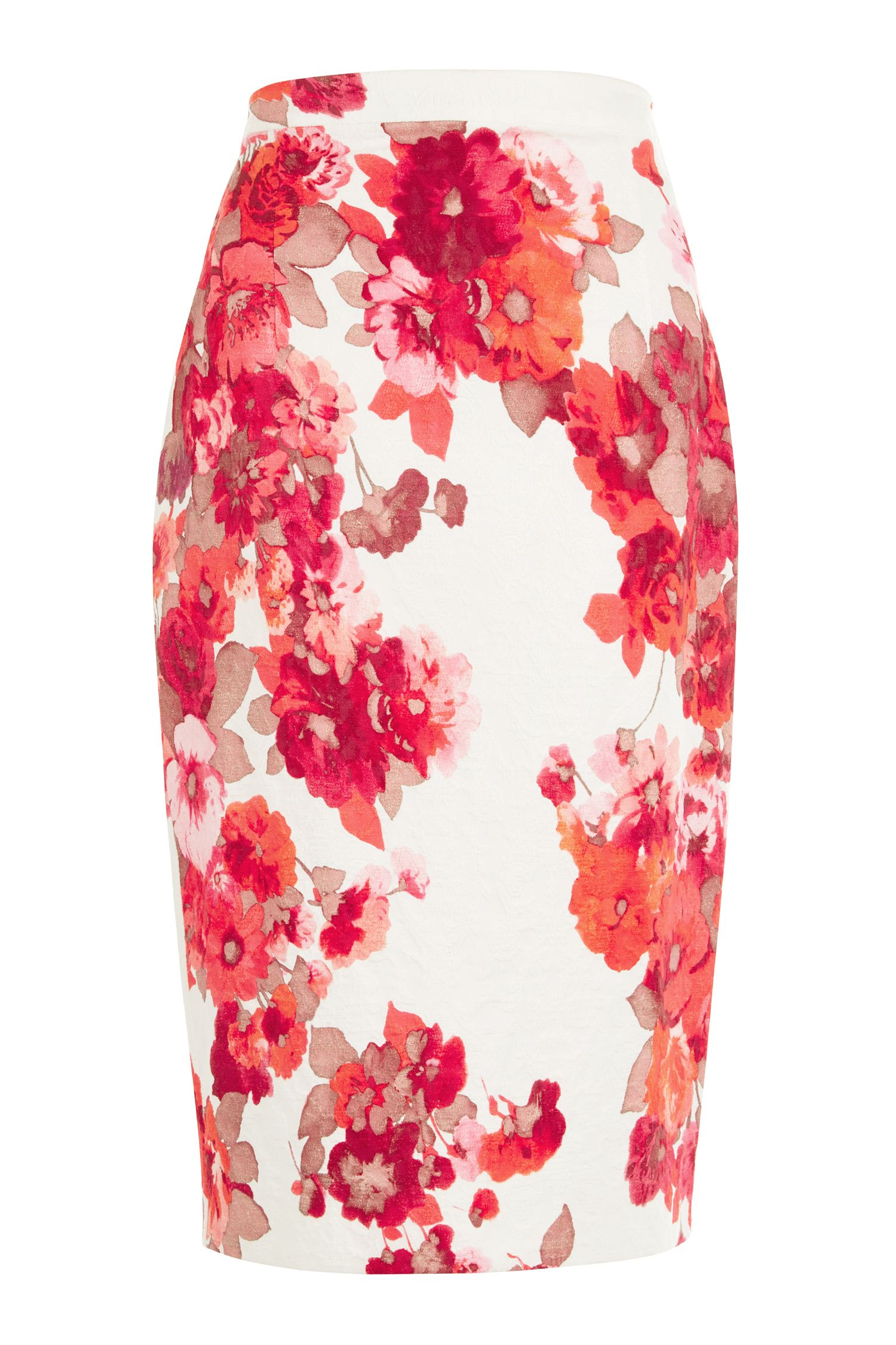 Damsel in a Dress Preppy Pencil Skirt, Multi-Coloured
