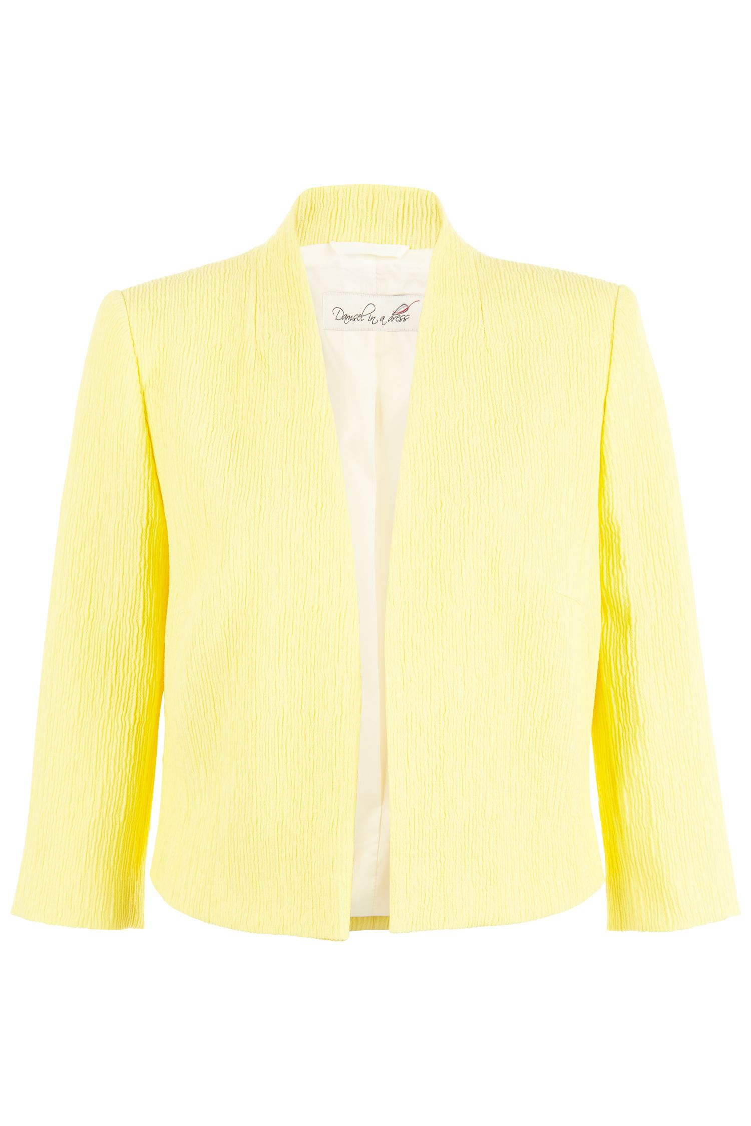 Damsel in a Dress Sjp Jacket, Yellow