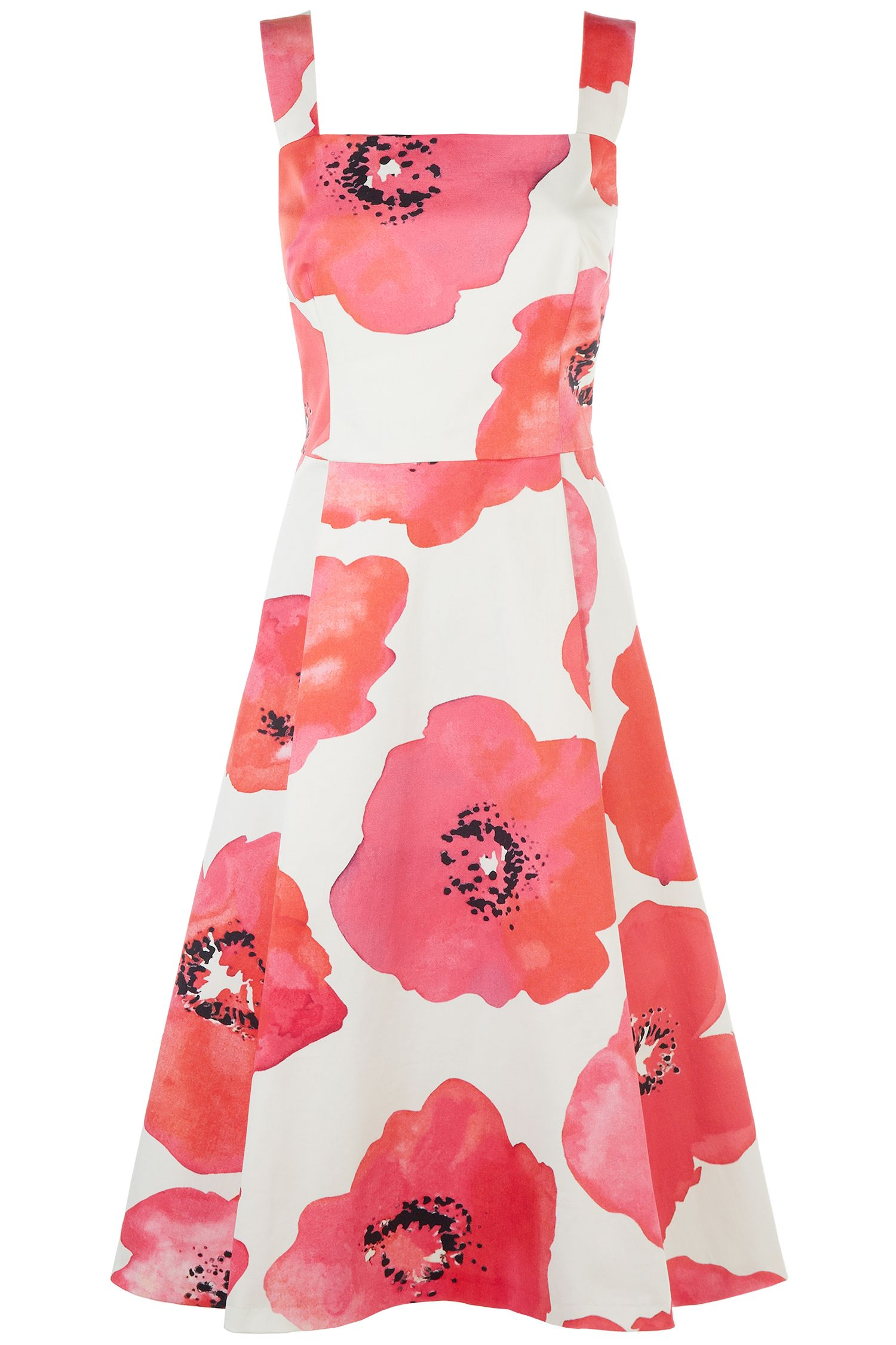 Damsel in a Dress Wild Poppy Dress, Multi-Coloured