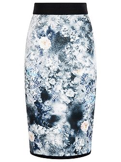 Spray Daisy Skirt