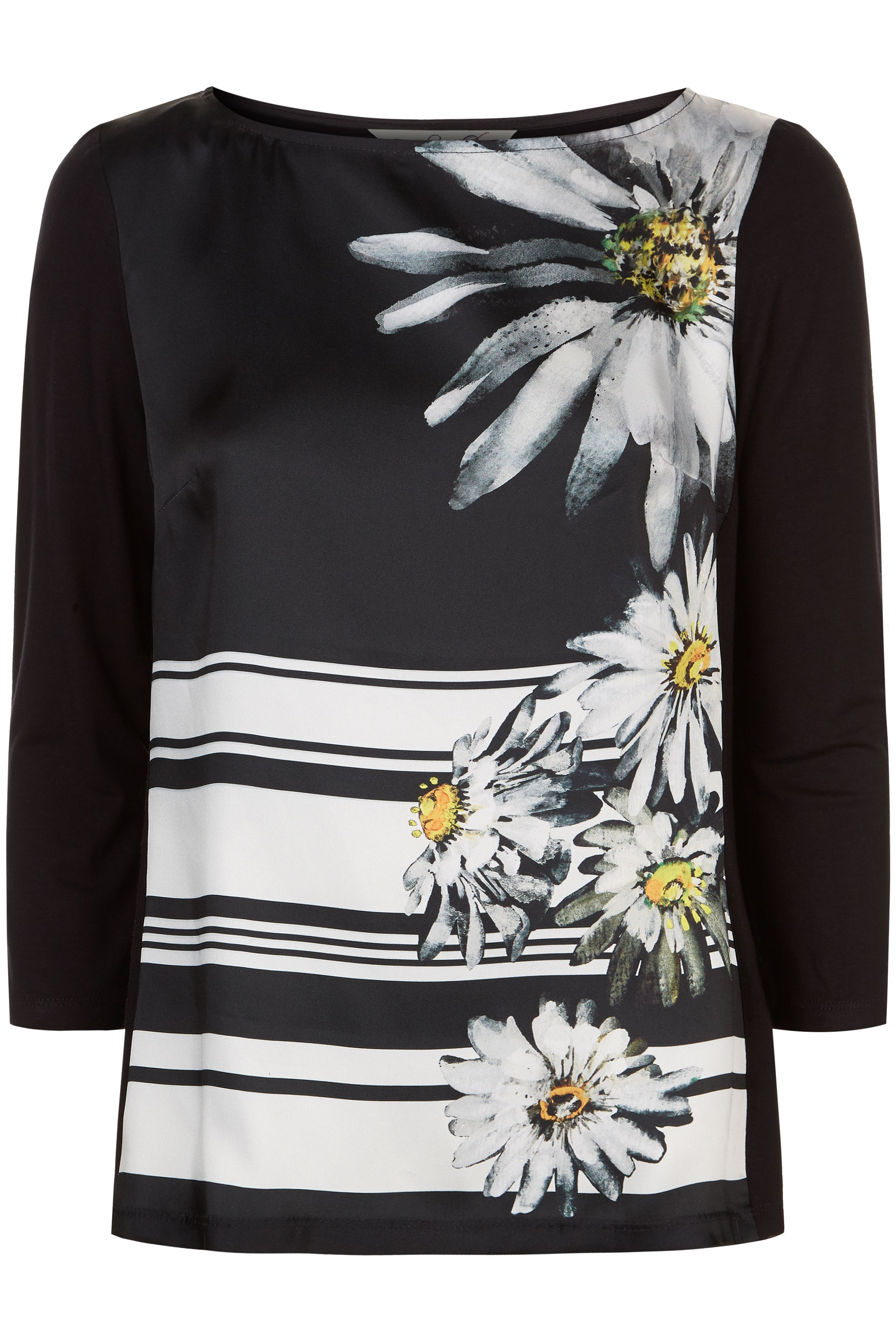 Damsel in a Dress Stripe Daisy Top, Multi-Coloured