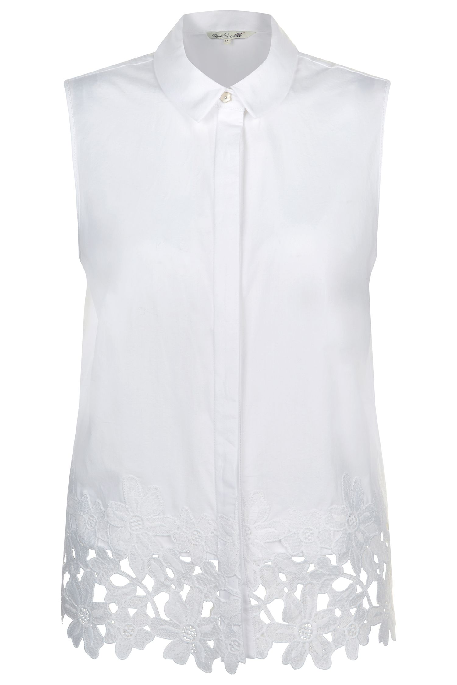 Damsel in a Dress Malibu Shirt, White