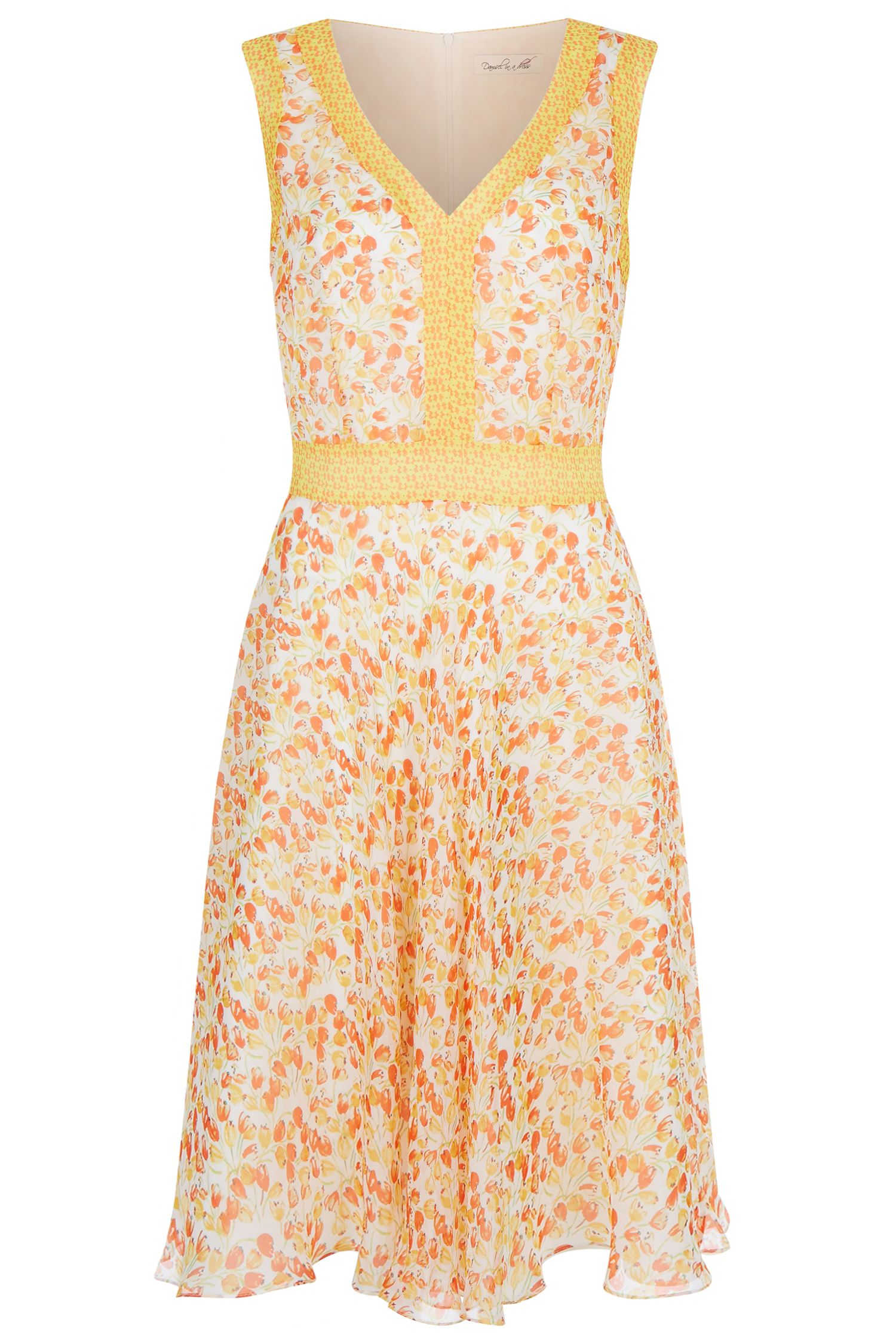 Damsel in a Dress Amsterdam Tia Dress, Orange