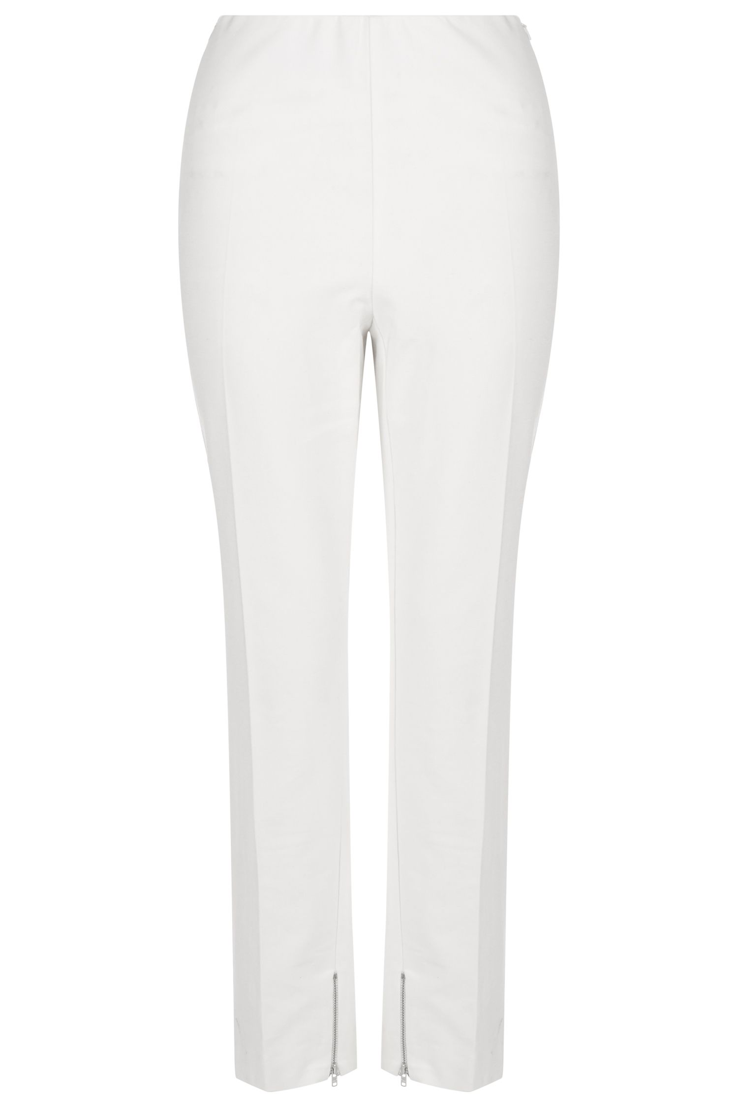 Damsel in a Dress Cropped Trousers, White