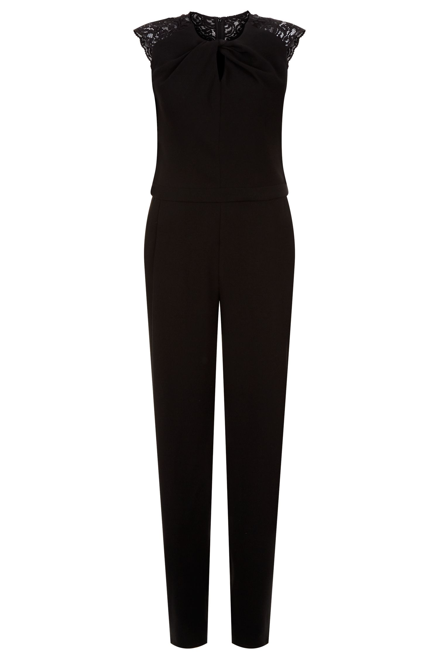 Damsel in a Dress Lynell Jumpsuit, Black