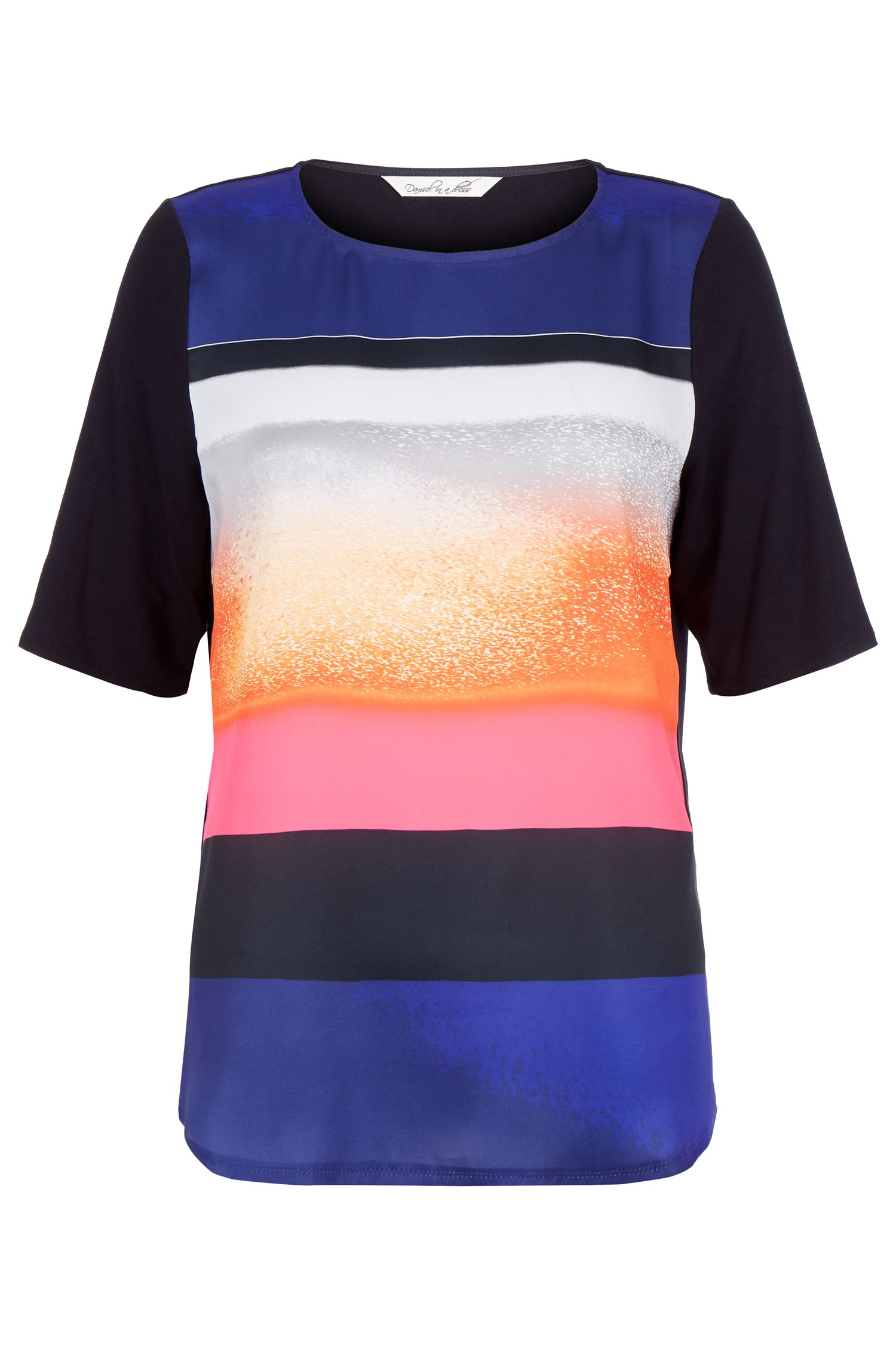 Damsel in a Dress Lola Top, Multi-Coloured
