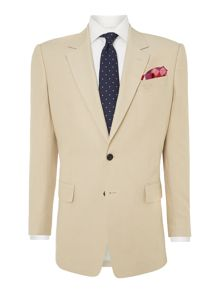 Classic formal linen suit jacket