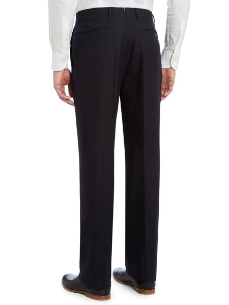 Chester Barrie Classic formal linen suit trousers