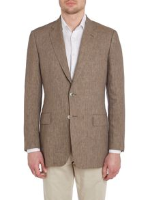 Chester Barrie Linen Chambray single breasted Jacket