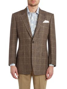 Classic check jacket